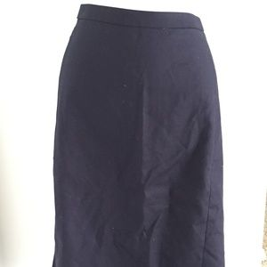 J. Crew No. 2 Pencil Skirt in Cotton Twill